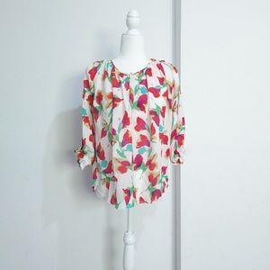 Ulla Johnson silk floral tops